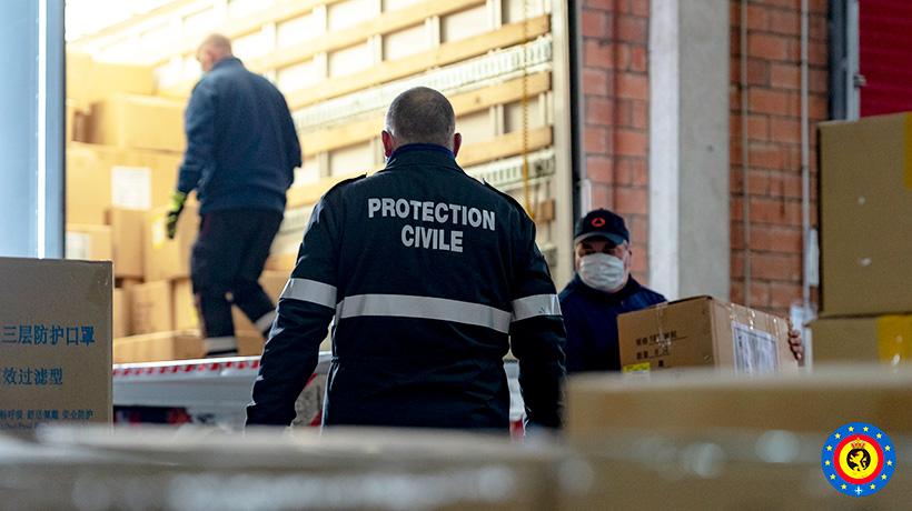 La Protection civile en appui dans la lutte COVID