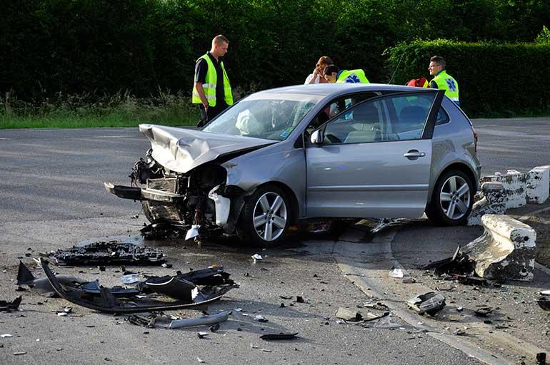 Accident de roulage avec blessés : les premières réactions