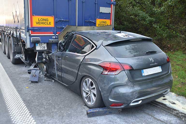 Verkeersongeval: hulp aan gewonden